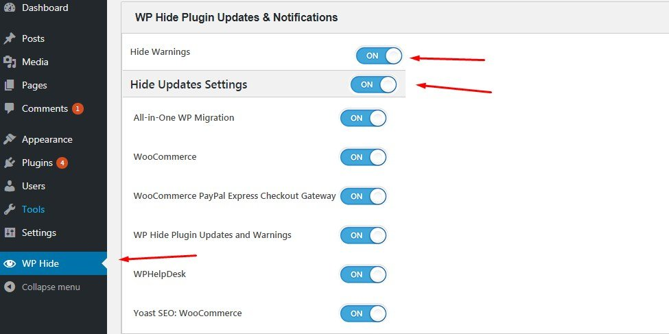 How To Remove Plugin Updater / License Key Warning Notifications