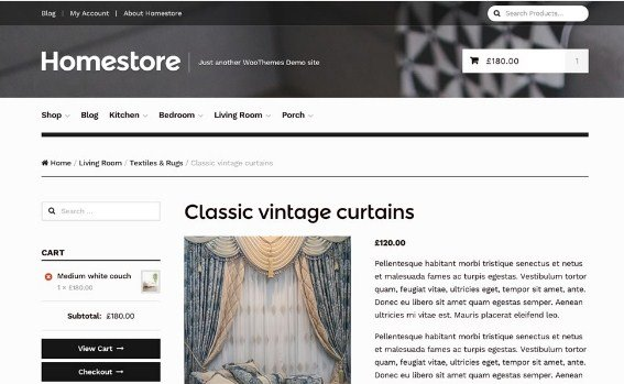 WooThemes Homestore Storefront WooCommerce Theme