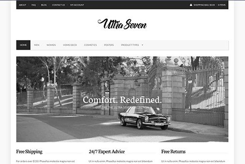 CSS Igniter UltraSeven WordPress Theme