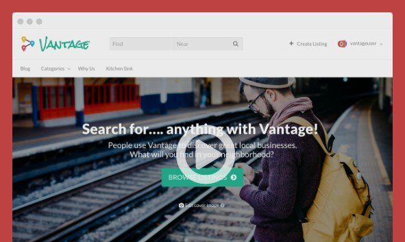 AppThemes Vantage Wordpress Themes