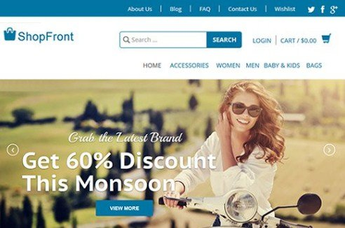 CyberChimps Shopfront WordPress Theme