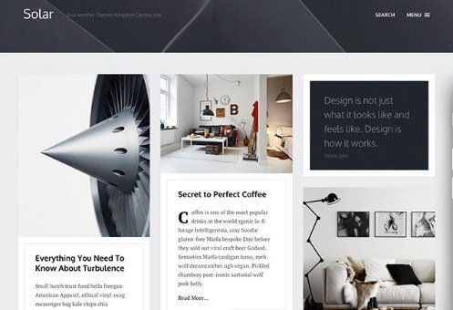 Themes Kingdom Solar WordPress Theme