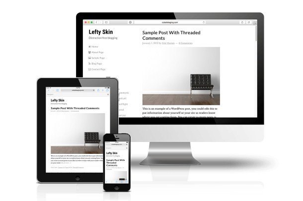CobaltApps Lefty Skin For Dynamik Website Builder