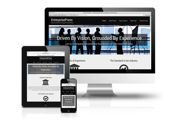 CobaltApps EnterprisePress Skin for Dynamik Website Builder