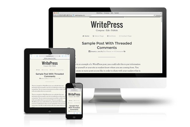 CobaltApps WritePress Skin for Dynamik Website Builder