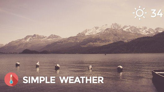 Weather WordPress Shortcode & Widget Simple Weather Plugin