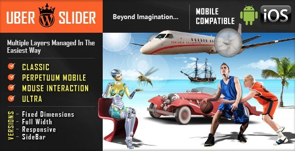UberSlider Layer Slider WordPress Plugin