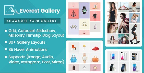 Everest Gallery - Responsive WordPress Gallery Plugin