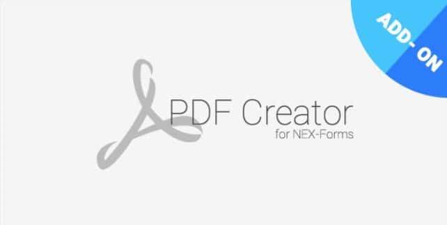 PDF Creator for NEX-Forms