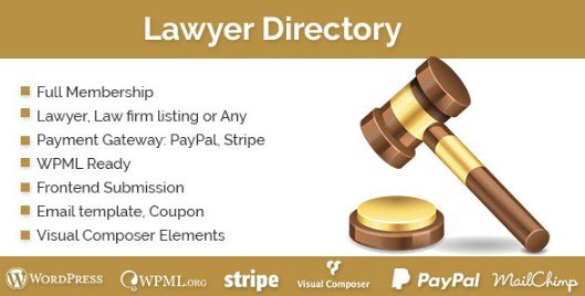 Lawyer Directory Wordpress Plugin