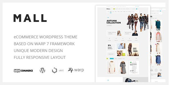 Mall - Clean Multi-Purpose WooCommerce Responsive WordPress Theme