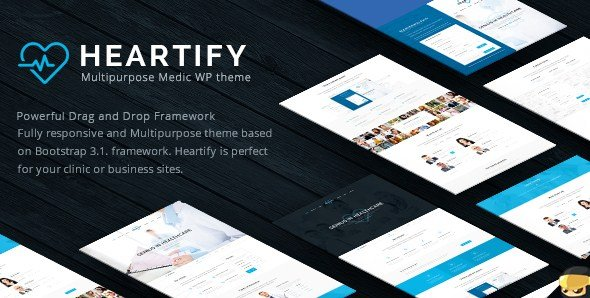 Heartify - Medical Health & Clinic WordPress Theme