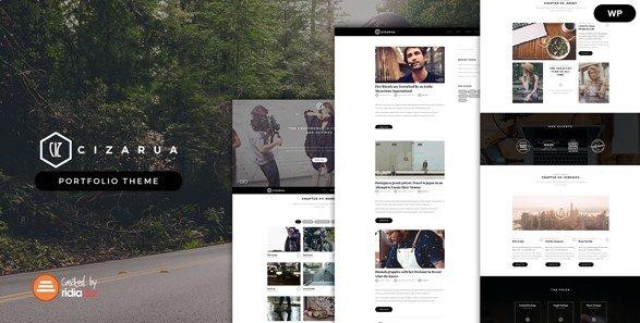 Cizarua - Responsive One Page Portfolio Theme